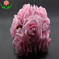BE brands colourfast 8cm foam rose flower pe rose