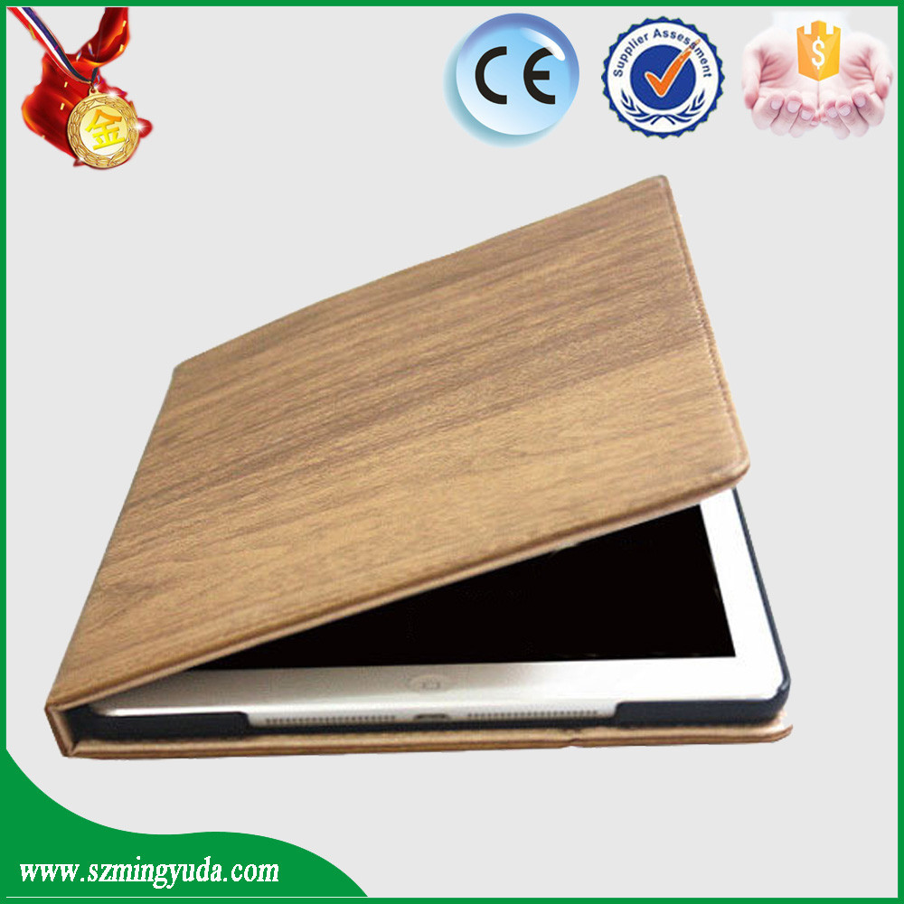 10 Inch classical wood grain Tablet Case for ipad air 2