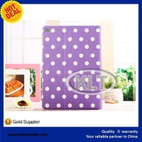 Colorful Leopard Spot Elegant leather case for ipad air hot selling