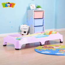 Primary School China Kiddie Kindergarden Plastic Sleeping Stackable Kid Bed Set