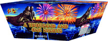 Good effect 90 Shots 1.3G Festival Display Cake Fireworks wholesale fireworks (M9001W)
