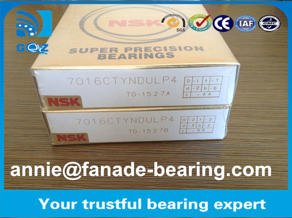 HCB7008-C-T-P4S Spindle Angular Contact Ball Bearings HCB7008.C.T.P4S NSK 40 x 68 x 15 mm