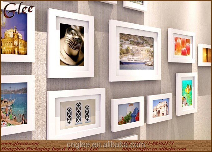 Wooden picture different types photo frame