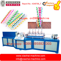 MC-530 HIGH SPEED FULL AUTOMATIC PAPER DRINKING STRAW MAKING MACHINE 100PCS PER MINUTE