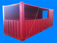 steel modular prtable container bars container for sale
