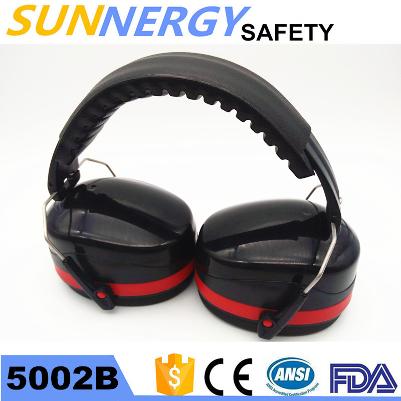 CE Certified nrr 30 hard hat cap mount ear muffs made in China