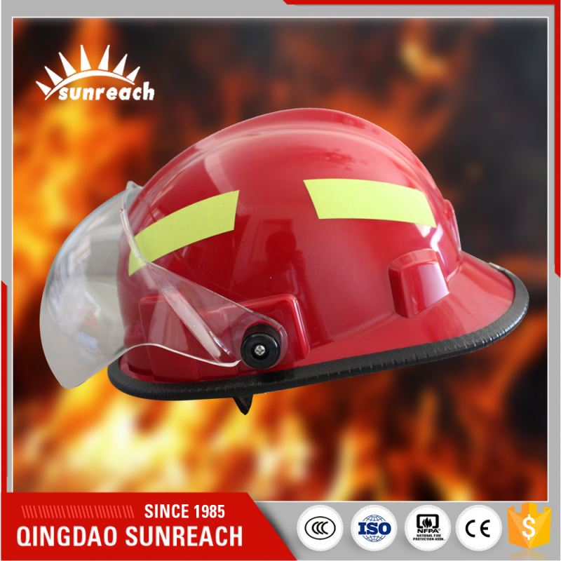 Radiation Protection Protective Fire Fighting Helmet