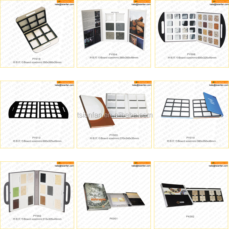 PK002---Tile display floors sample book