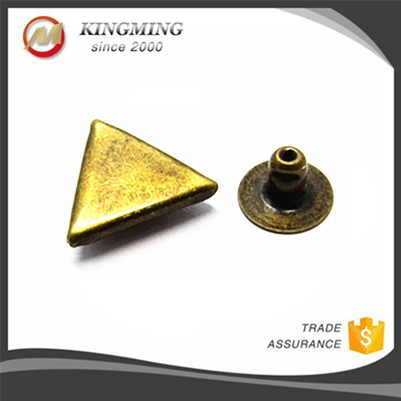 Metal Triangle Studs For Clothing