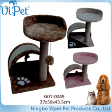 Supply proffessional superior quality cat pet toy home cat scratcher tree
