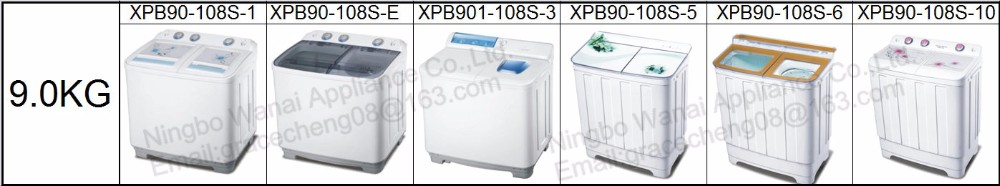 9.0kg semi-auto twin-tub Washing machine