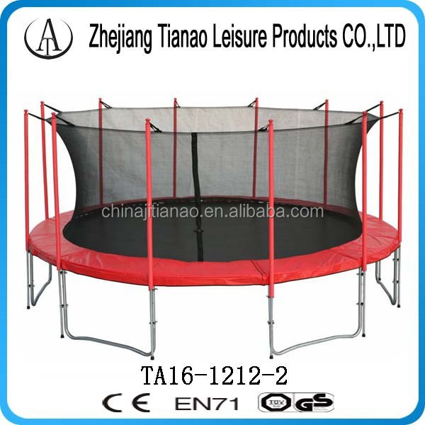 hot selling items 16 ft trampoline gs tuv for kids and adult trampoline