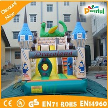good quality made in china crazy titanic inflatable slide/jumbo water slide inflatable