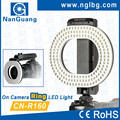 Nanguang 9.6W CN-R160 Camera DSLR LED Ring light for lens Ra 95