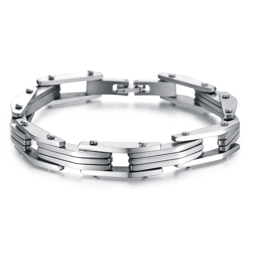 Silver 316l stainless steel thailand silver jewelry GS730S