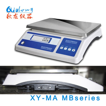 Qlong 20kg Chinese Cheap Electronic Digital Label Printing Barcode Weighing Scales with Printer print out XY20MB