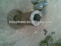 Forming tube for biomass briquette machine