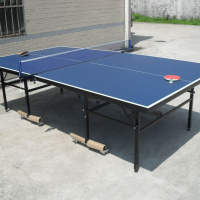 Statium Facilities equipment table tennis in rainbow legs