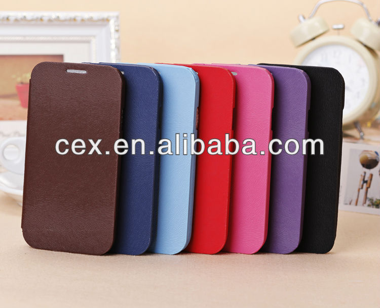 NEWEST Squirrel Grain Pu Leather Case For Samsung Galaxy S4 I9500 (Assorted Colors)