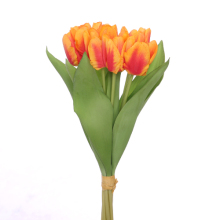 real touch tulip bouquet wedding bouquet artificial flower bouquet