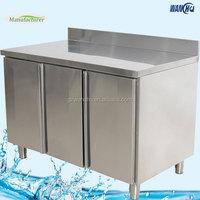 Factory Stainless Steel Commercial Kitchen Base Cabinet/Heavy Duty Kitchen Island Cabinet/Kitchen Furniture Inox Floor Cabinet