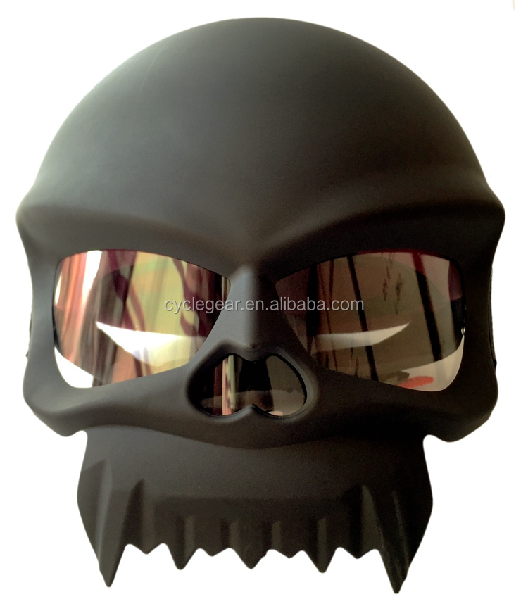 Newest Skull Motorcycle Helmet Chopper Style Cycling Casco Casque CG429