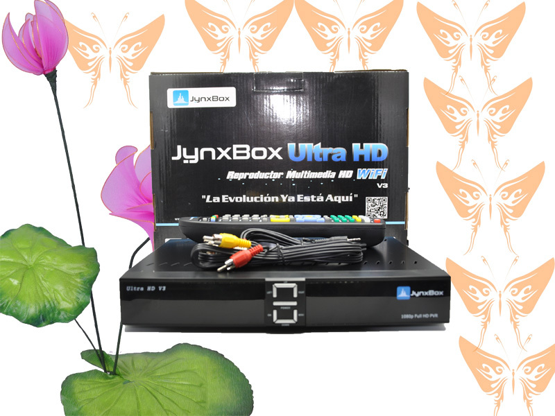 usb wifi decoder jynxbox ultra hd v6 for north america JynxBox Ultra HD V3