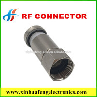 china factory direct saler f plug rg6 cable rf coaxial connector