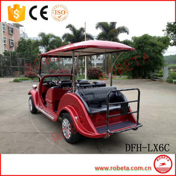 top quality with CE classic solar electrical car
