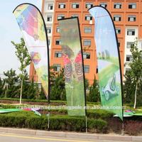 Advertising Teardrop Beach Flag Flag Banner