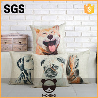 Pet Dog Design Sofa Decorative Cushion For Leaning On