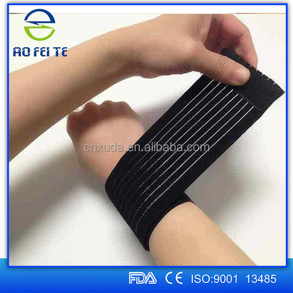 Wrist Wrap Elastic Strap Support Pain Guard Sports Injury Brace