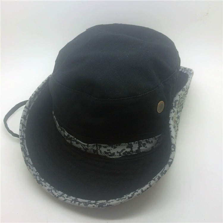 most popular custom 100% cotton bucket hat