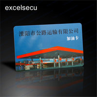 ESECU High resistance PVC/Plastic prepaid top-up contactless gasoline smart card