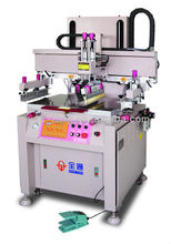 Semi Auto flat bed Silk Screen Printing machine for PVC card