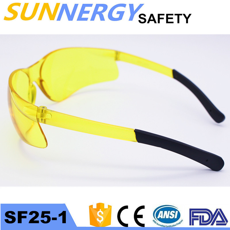 Top Quality workplace safety PC eyewear Taiwan impact protection safety glasses & goggle With Good Service