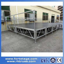 1.2m Wide Plywood Deck Aluminum Stage On Sale
