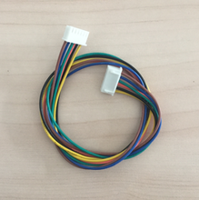 Customized HRS connector 6 pin cable assembly wire harness