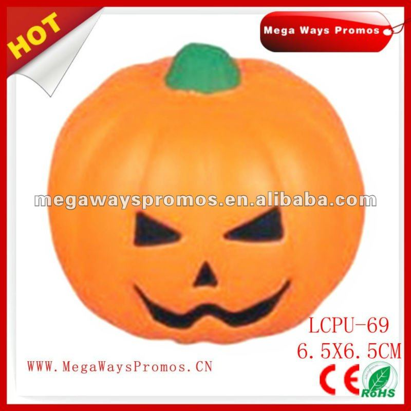 PU stress Halloween Pumpkin