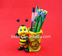 Wholesale office and students' resin Pen Container pen box