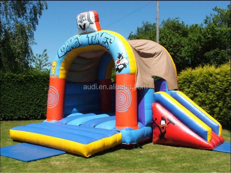 Looney Combi/Inflatable Bouncer Castle