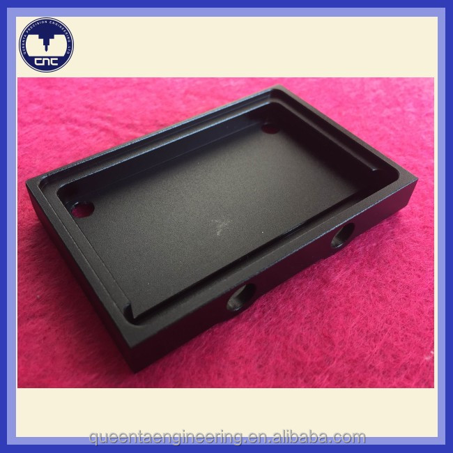 custom aluminum anodized cnc machined parts for aluminum box