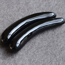 Spot supply natural obsidian crystal massage healing artificial penis