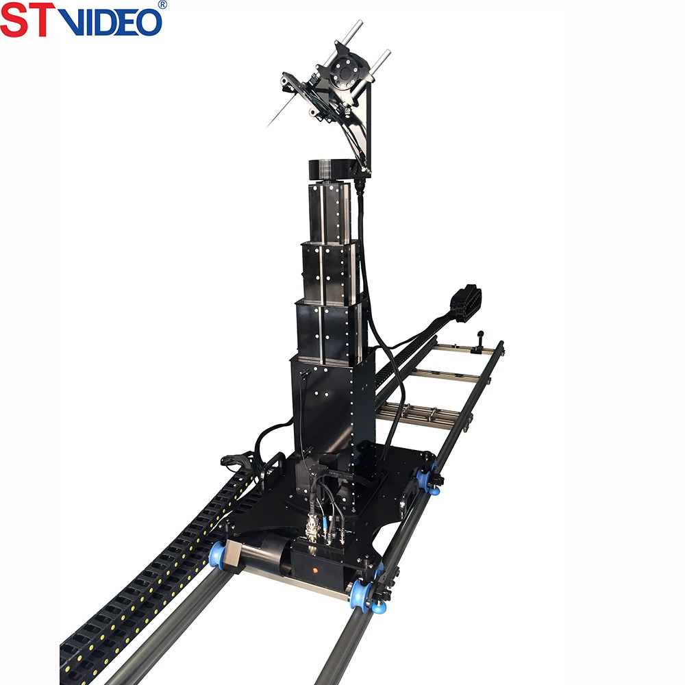 2016 new arrival flexible vertical camera jib,studio camera jib,TV Station broadcasting shooting equipment