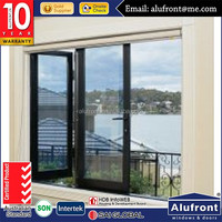 AS2047 double layer glass bi-folding window with German hardware