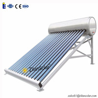 350L glass tube calentador solar manufacturers of solar water heater roof system