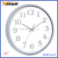 New item 16 inch cheap advertising kitchen clock