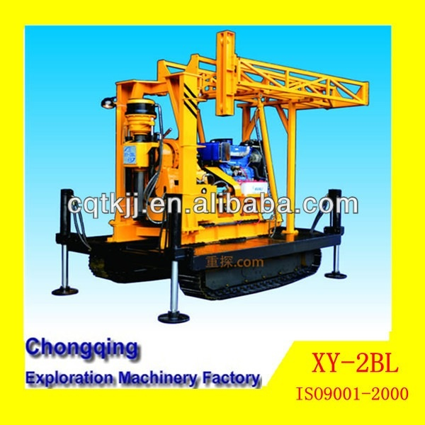 Newly Powerful Multi Function XY-2BL Crawler Mounted Portable Bore Hole Water Well Drilling Rig For Sale