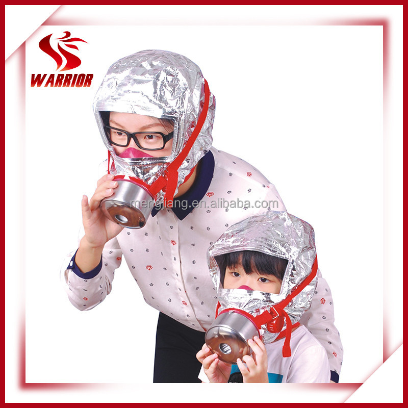 CE approved fire smoke hood, smoke respirator, xhzlc 40 mask