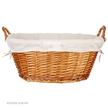 Handmade Laundry Storage Woven Wicker Basket